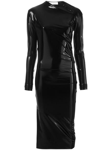 A.F.VANDEVORST dress bodycon bodycon dress women spandex black