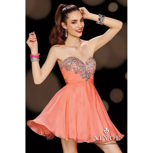 dress alyceparis formal dress high-low dresses