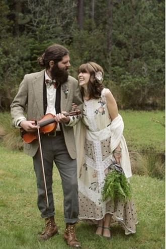 dress wedding clothes wedding dress pants jacket hipster wedding