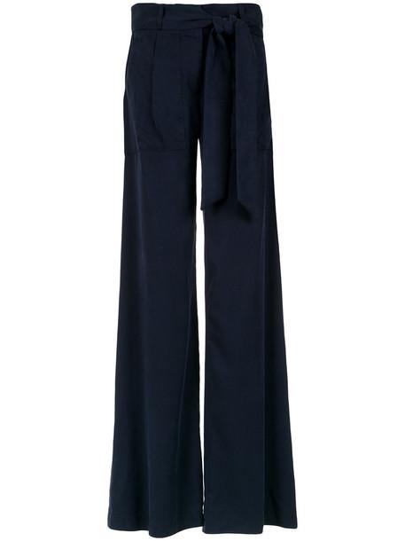 Giuliana Romanno women blue pants