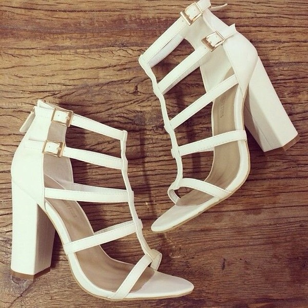 shoes strappy sandals white shoes party shoes