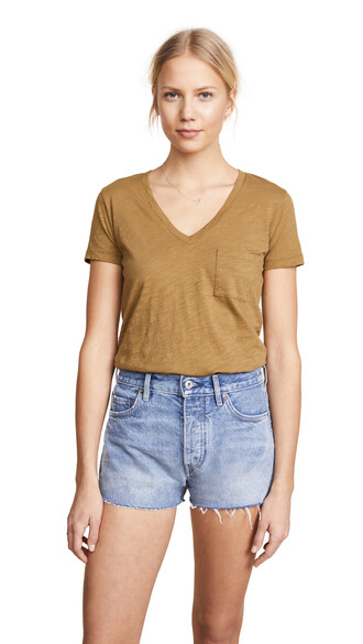 v neck cotton top