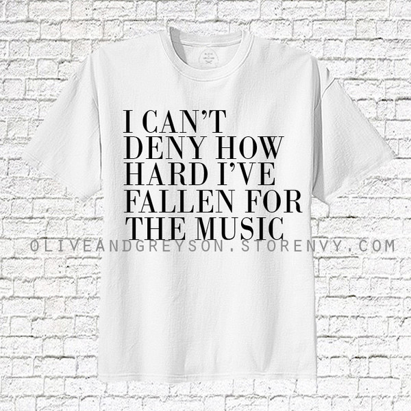 music women clothes clothes punk shirt heat press i love music oliveandgreyson band merch love music rock tee women tshirts white t-shirt white top rolled sleeves