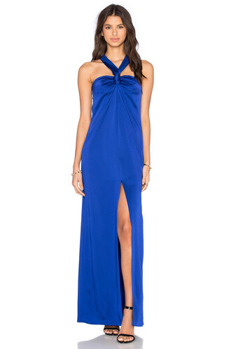 gown blue
