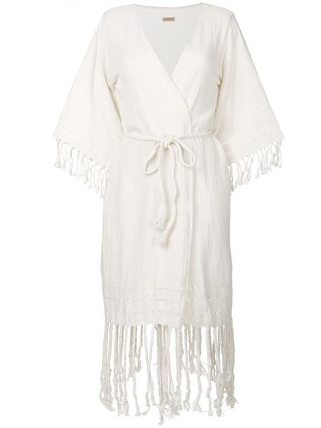 Caravana cardigan cardigan women white cotton sweater