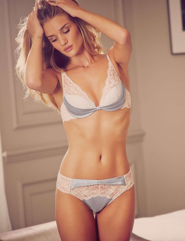 Underwear Bra Lace Rosie Huntington Whiteley Bridal