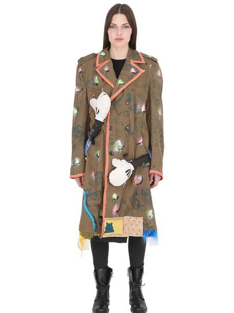 PATRICIA FIELD ART FASHION jacket khaki