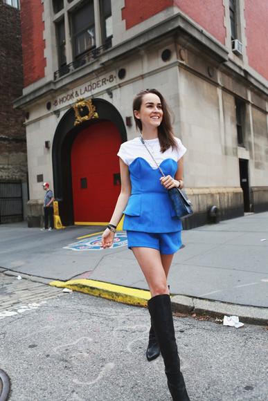 style scrapbook shoes jewels bag jumpsuit t-shirt blogger