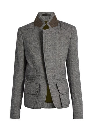 jacket wool jacket wool grey