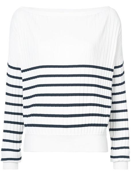 jason wu jumper women spandex white sweater