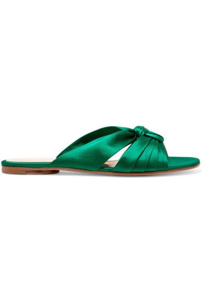 Gianvito Rossi satin shoes