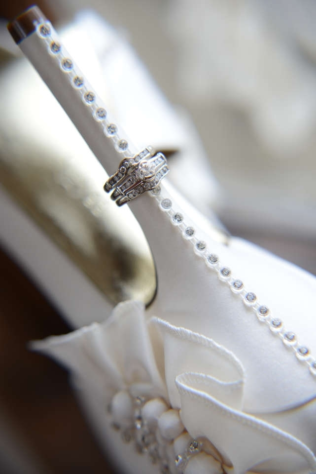 Nina Shoes Ivory Nina Shoes W/ Added Bling Wedding Shoes 46% Off| Tradesy Weddings