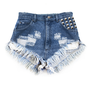 Hipster 420 Pyramid Shorts - Arad Denim