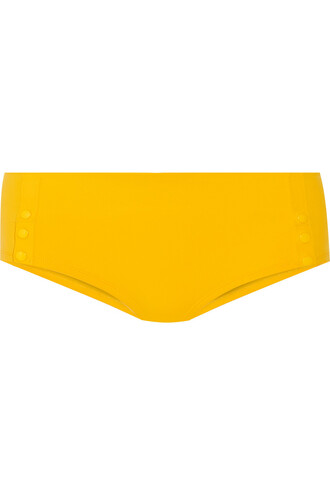 bikini peach yellow swimwear