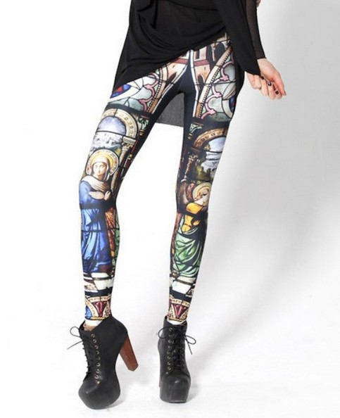 Cathedral leggings · andrea's fashion boutique · online store powered by storenvy