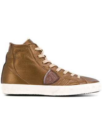 fur women sneakers lace leather brown shoes