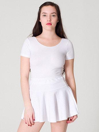 Knit jersey skirt
