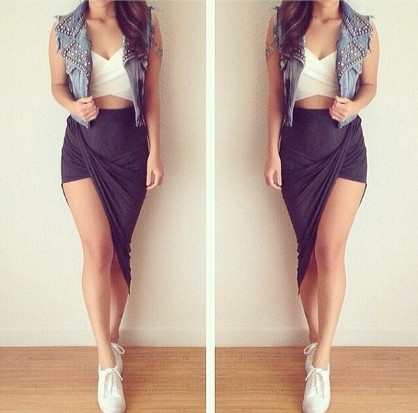 hipster girl skirt - photo #13