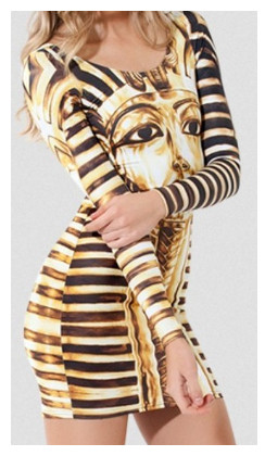 King tut dress