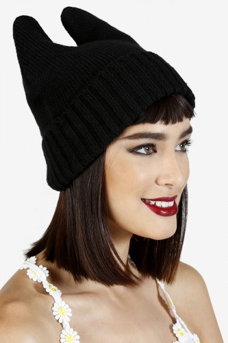 Cat Ears Knit Beanie