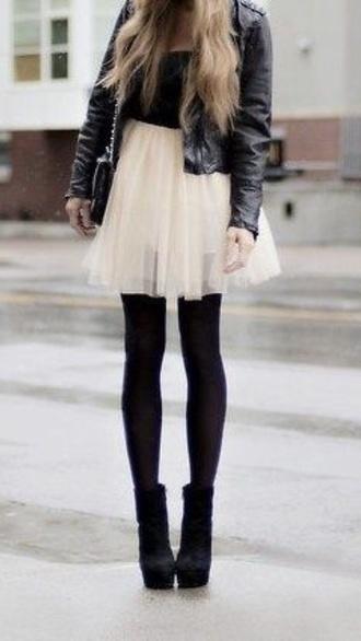dress jacket shoes black leather jacket little black dress black and white dress black shoes boots black boots heels black heels edgy chic and edgy
