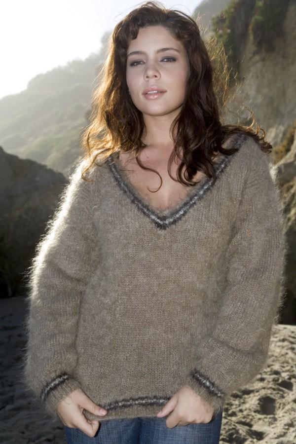 Sexy Women Fuzzy Sweaters 64