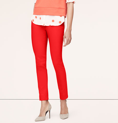 Tech stretch skinny ankle pants in julie fit