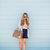 Blazer & Lace Trim Shorts | The Teacher Diva: a Dallas Fashion Blog featuring Beauty & Lifestyle