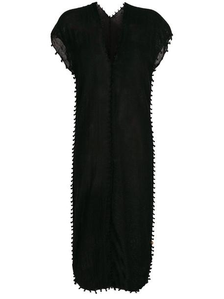 Caravana dress women cotton black