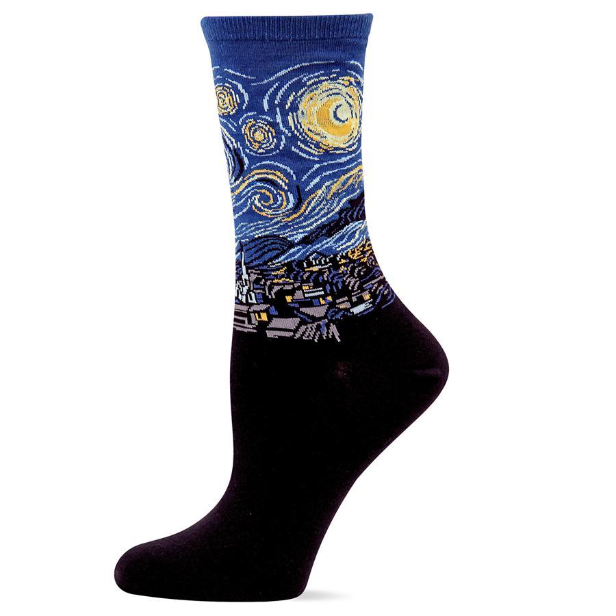 Art socks of vincent van gogh
