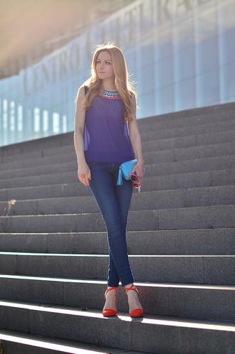 oh my vogue t-shirt jeans shoes bag sunglasses jewels