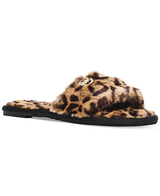 MICHAEL Michael Kors Jet Set MK Slippers - Slippers - Shoes - Macy's