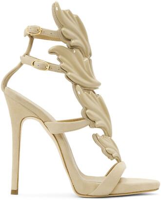 wings sandals beige shoes