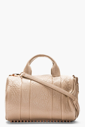 bag rocco accessories women duffle bags pebbled latte leather