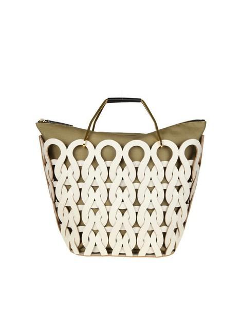 MARNI bag leather white