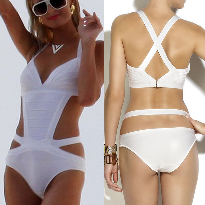 New Fashion Chicwhite Bandage sexy quality bikini swimsuit swimwear | eBay
