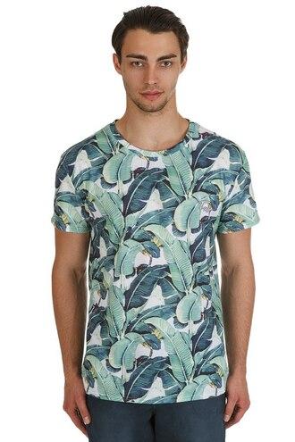 t-shirt menswear floral t-shirt leaves floral floral print t-shirt mens t-shirt urban urban menswear