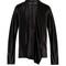 Nemesis silk-satin draped blouse
