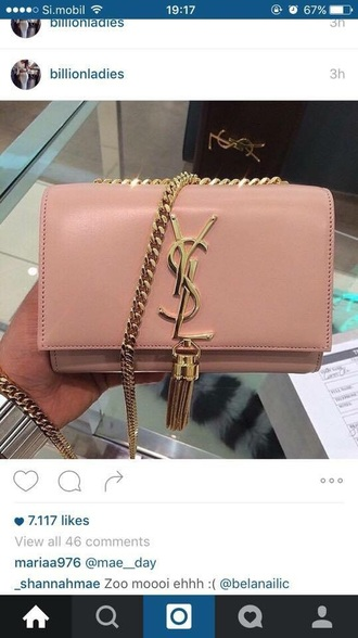 bag handbag ysl