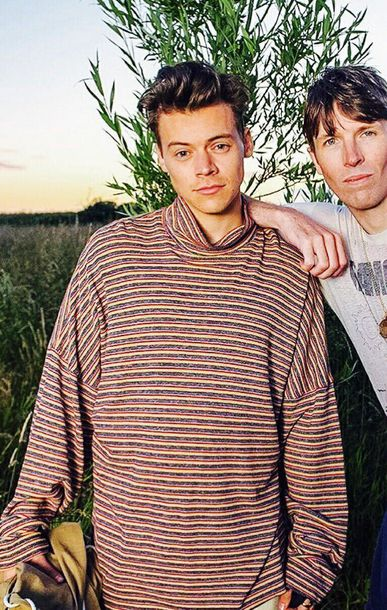 shirt, harry styles, turtleneck, striped top, long sleeves ...