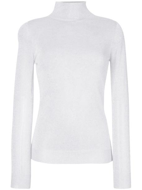 sweater women classic white