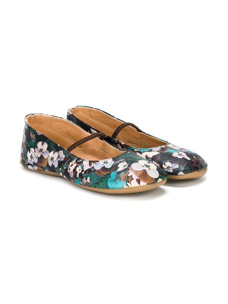floral leather 24 shoes