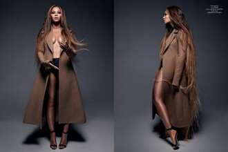 shoes beyonce jacket celine heels manolo blahnik beautiful long hair pea coat coat dope clothes