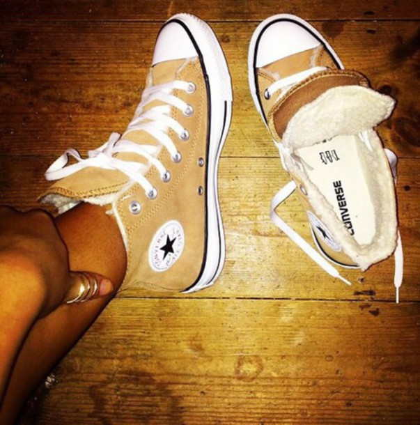 shoes converse tan