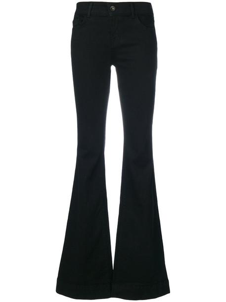J BRAND pants palazzo pants women spandex cotton black