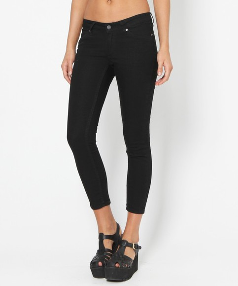 jeans black jeans skinny jeans shoes cropped jeans slim fit jeans slim cropped jeans