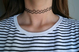 jewels choker necklace necklace