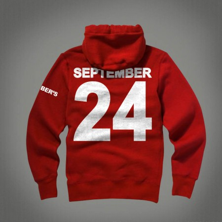 Nwts nothing was the same september 24 ovo hoodie by drake