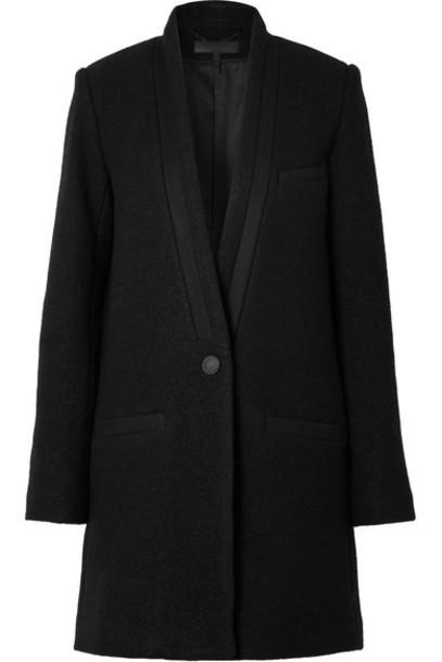 Rag & Bone coat black wool