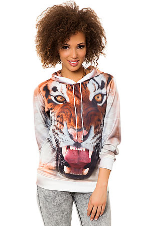 Beloved Hoody The Tiger in Multi -  Karmaloop.com